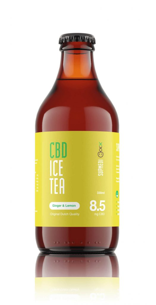 CBD Ice Tea Ginger And Lemon