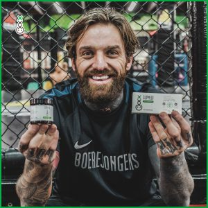 CBD Tablets for athletes mma