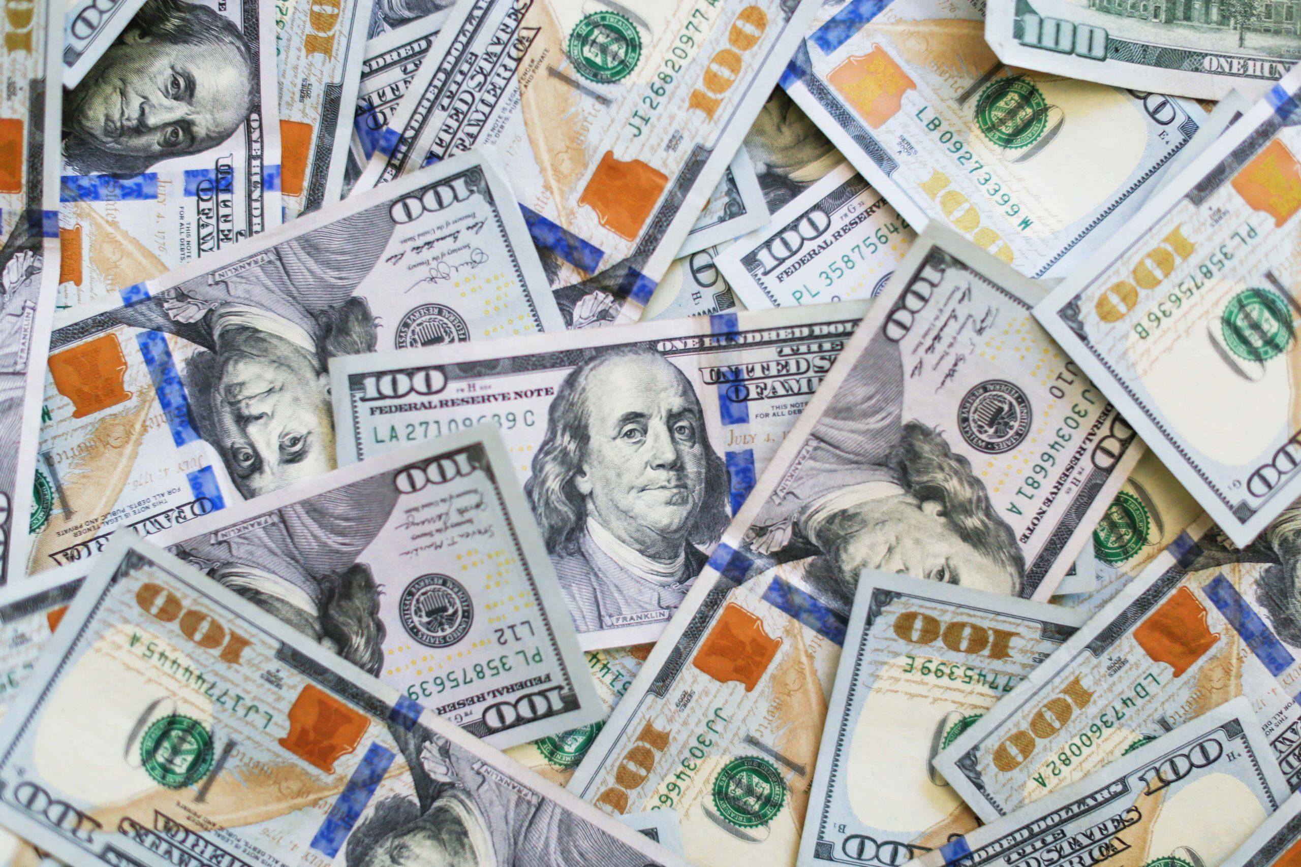 Dollars cash
